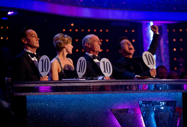 Strictly Come Dancing: The judges score the perfect 10