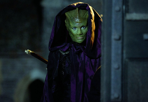 Doctor Who - 'The Snowmen': Neve McIntosh as Vastra