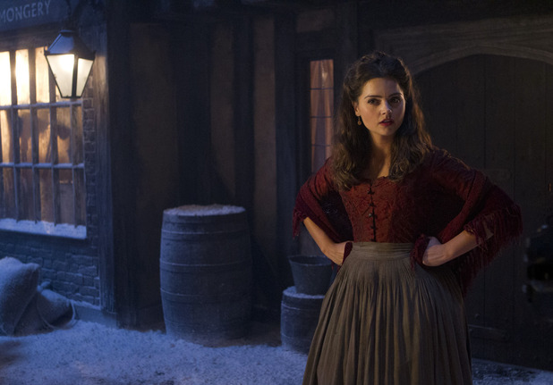 Doctor Who - &#39;The Snowmen&#39;: Jenna-Louise Coleman as Clara