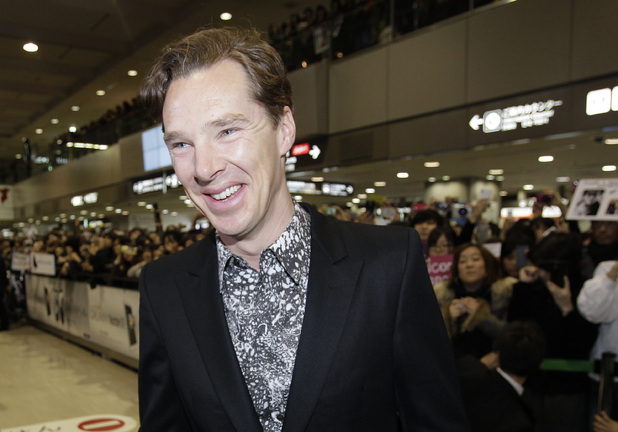Benedict Cumberbatch, Narita international airport, Star Trek into The Darkness