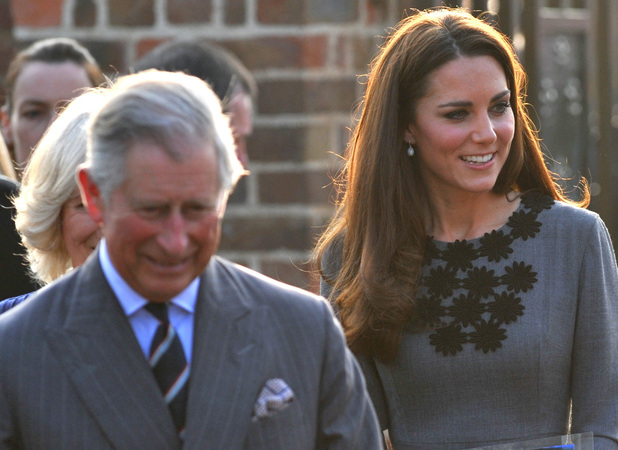 Catherine, Duchess of Cambridge aka Kate Middleton, Prince Charles the Prince of Wales, Camilla the Duchess of Cornwall visit the Dulwich Picture Gallery in south London. The Royals are to meet youngsters involved in The Prince&#39;s Foundation for Children and the Arts.