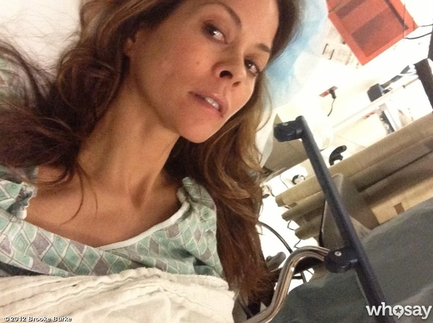 Brooke Burke Charvet in hospital for thyroid surgery