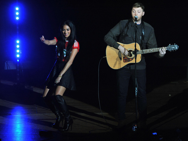 Nicole Scherzinger, James Arthur, Middlesbrough Town Hall