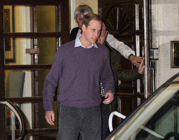 Prince William, hospital visit