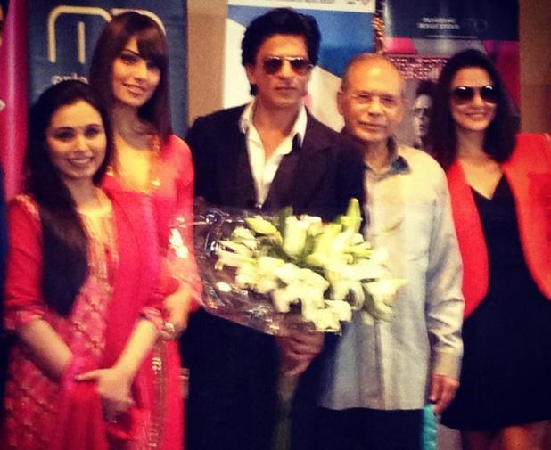 SRK, Bipasha, Rani, Preity Zinta