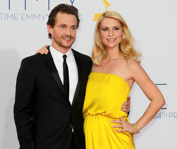 Hugh Dancy and a pregnant Claire Danes 64th Annual Primetime Emmy Awards, held at Nokia Theatre L.A. Live - Arrivals Los Angeles, California