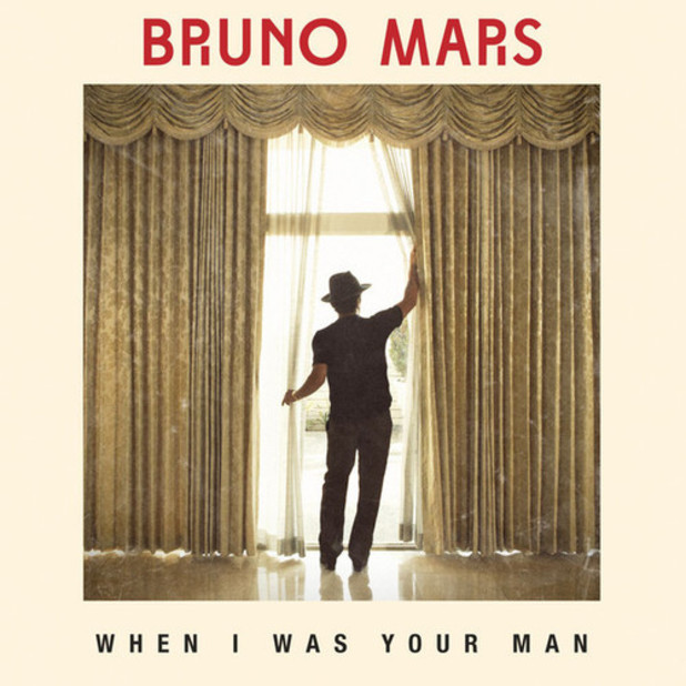 Bruno Mars 'When I Was Your Man' artwork