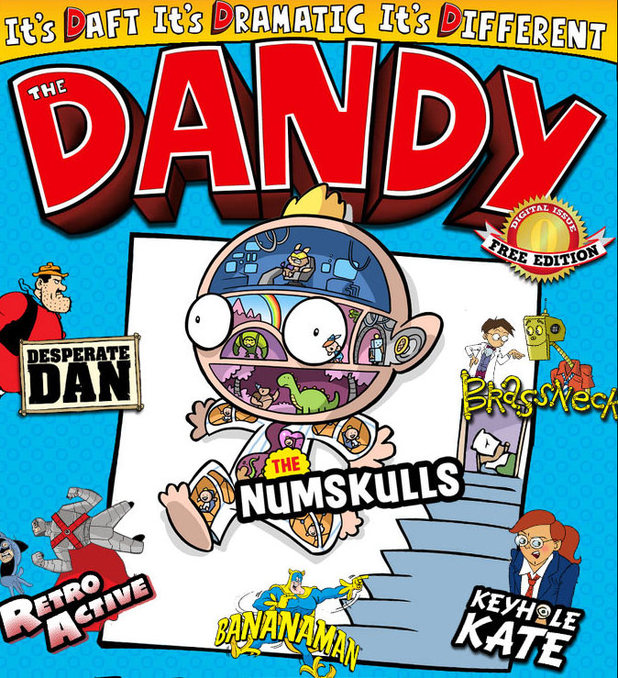 The Dandy final print edition on sale and comic goes digital
