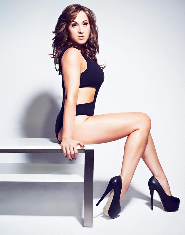 Natalie Cassidy photo shoot for Now Magazine