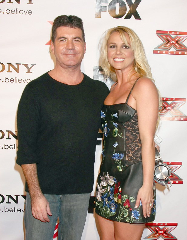 The X Factor 2012 Final Four Party at Rodeo DriveFeaturing: Simon Cowell, Britney Spears