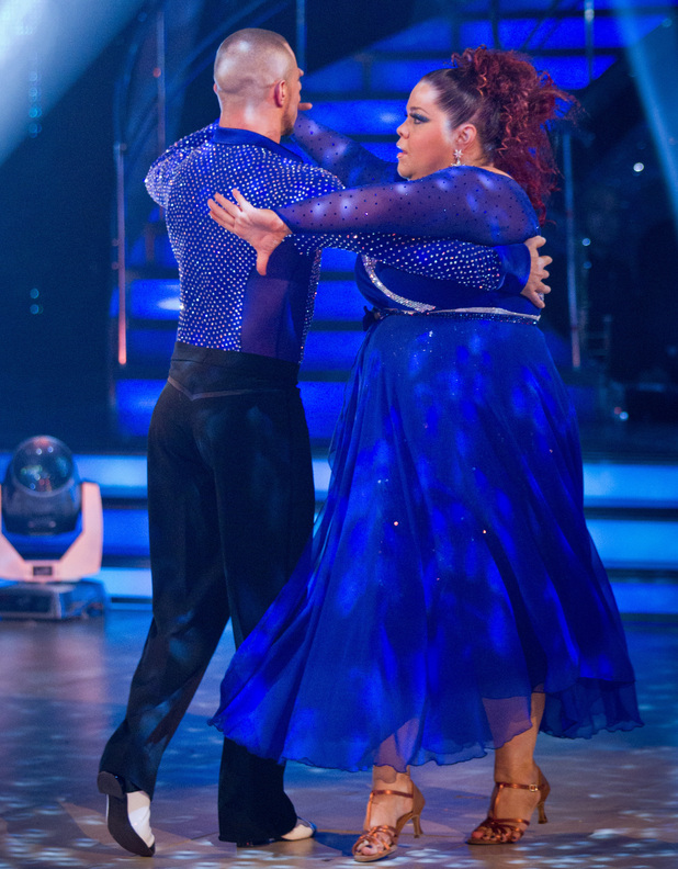Strictly Come Dancing: Lisa and Robert.