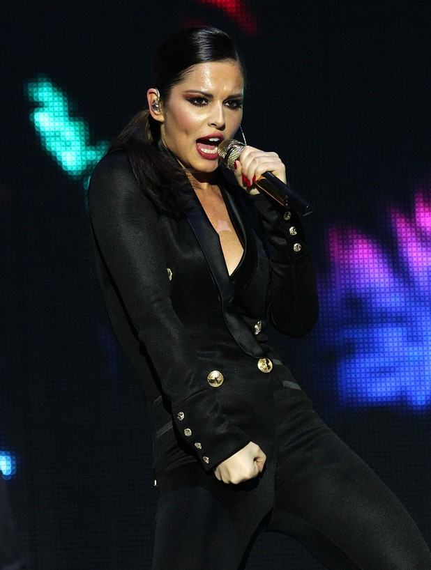 Capital FM Jingle Bell Ball 2012: Cheryl Cole
