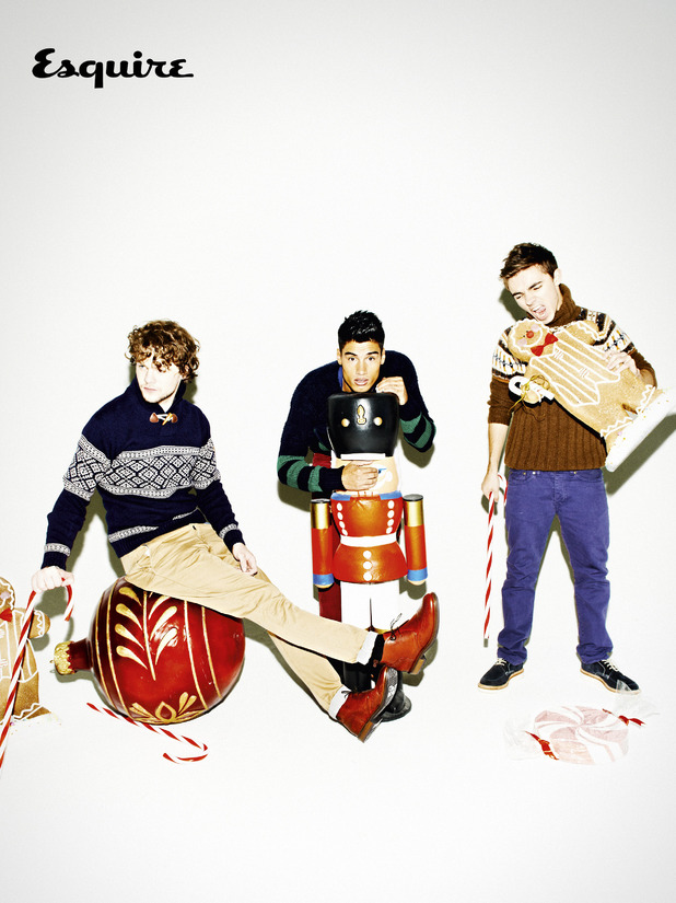 The Wanted in Esquire