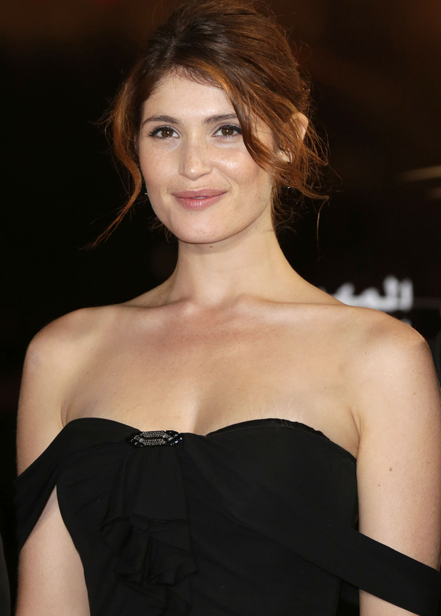 Gemma Arterton arrives for the closing ceremony of the 12th Annual Marrakech International Film Festival.