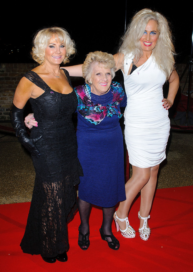 Carol Wright, Nany Pat and Debbie BrightThe Only Way Is Essex - LIVE episode