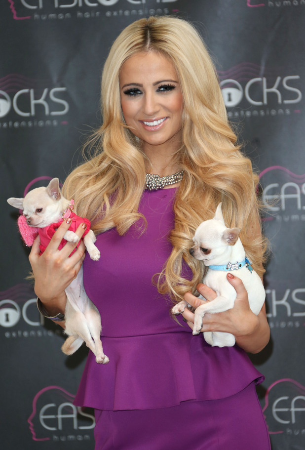 Chantelle Houghton launches Easilocks extensions at the Worx Studios