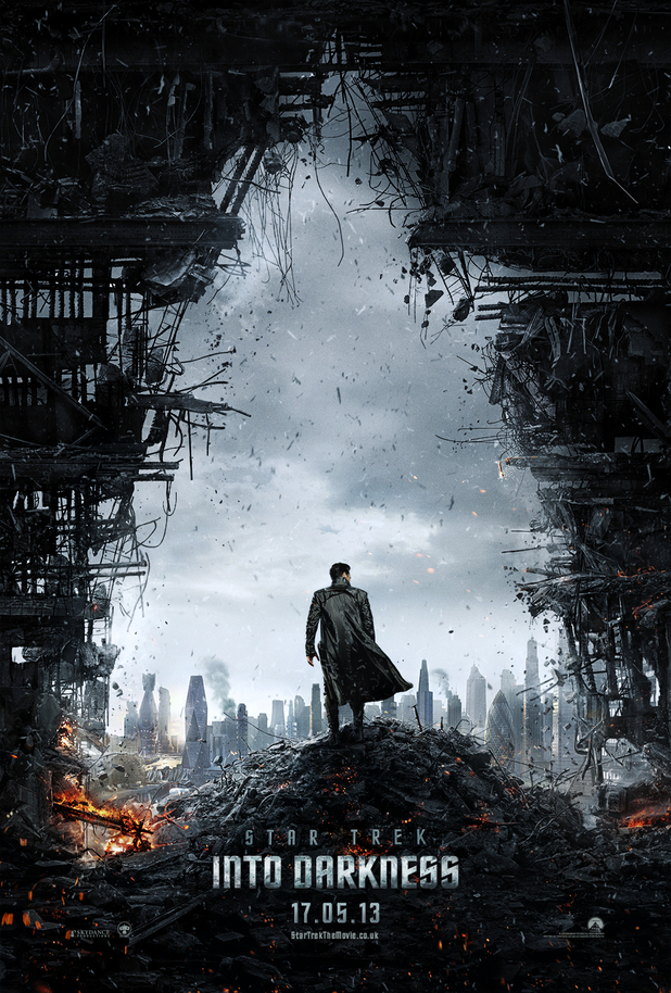 &#39;Star Trek Into Darkness&#39; poster