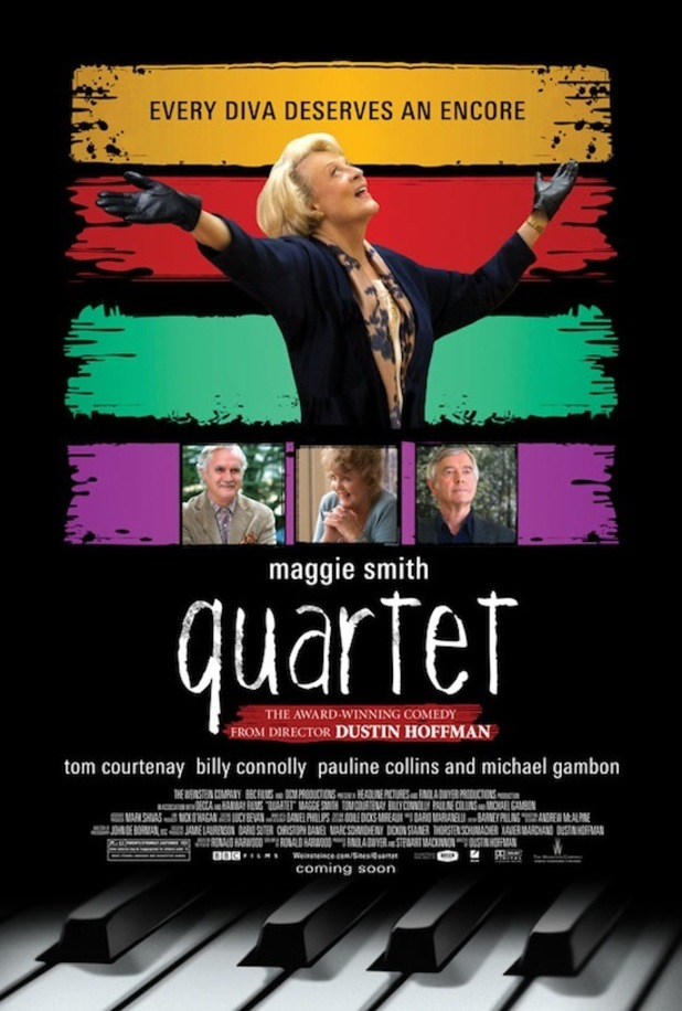 'Quartet' poster featuring Maggie Smith