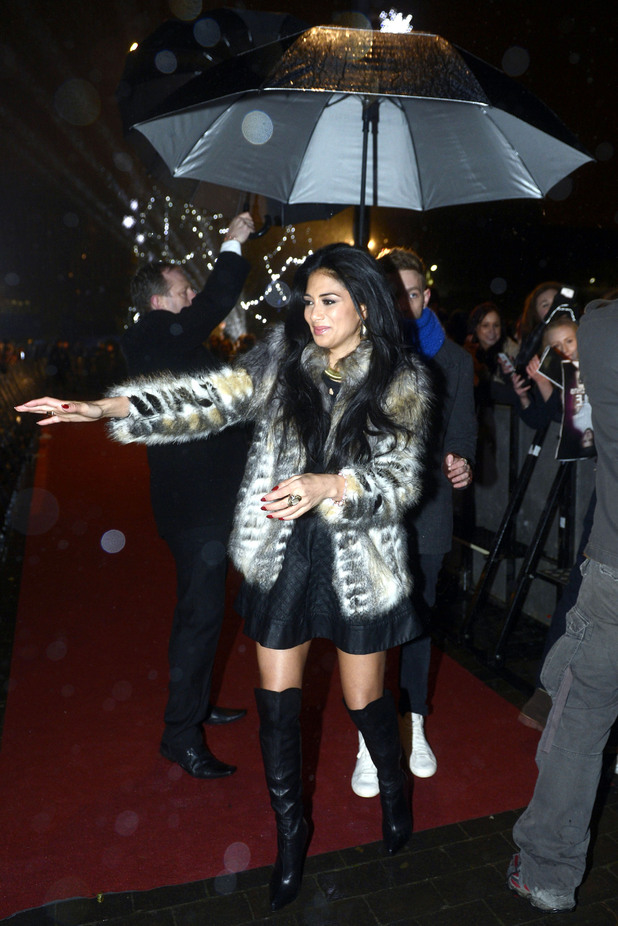 Nicole Scherzinger, X Factor, Middlesbrough Town Hall
