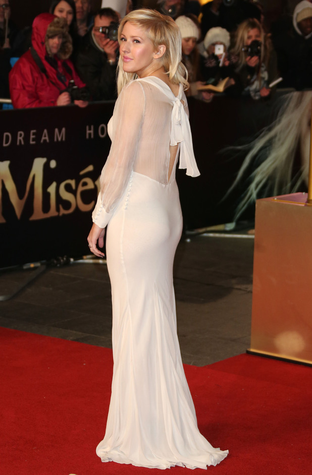 Ellie Goulding arrives at the premiere of Les Miserables at the Empire Leicester Square, London, UK