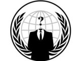 Anonymous hacking group emblem
