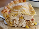 Turkey and Stuffing Pie