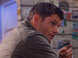 Supernatural S08E09: 'Citizen Fang' - Jensen Ackles as Dean and Kathleen Munroe as Elizabeth