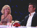 Amanda Holden is left unimpressed by a joke at the Britain's Got Talent auditions.
