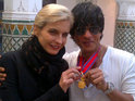 Shah Rukh Khan is awarded Morocco's Medal of Honour at a star-studded dinner.