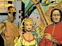 The sci-fi legend and Concrete creator team on graphic novel 7 Against Chaos.