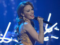 Minogue unveils new performance as part of her K25 advent calendar for fans.