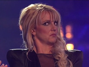 Britney Spears X Factor USA facial expression