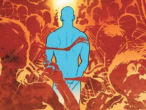 'Before Watchmen: Dr. Manhattan' #3 cover artwork