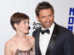 Hugh Jackman, Anne Hathaway The Museum Of Moving Images Salute to Hugh Jackman at Cipriani Wall Street New York City, USA - 11.12.12