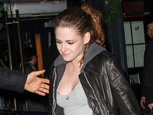 Kristen Stewart spotted leaving Abe & Arthur's in the Meatpacking District New York City, USA
