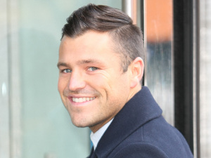 Mark Wright at the ITV studios in London.