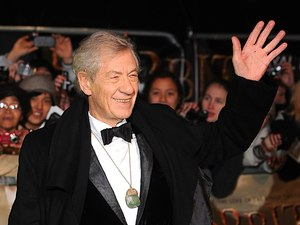 The UK Premiere of The Hobbit: An Unexpected Journey: Sir Ian McKellen