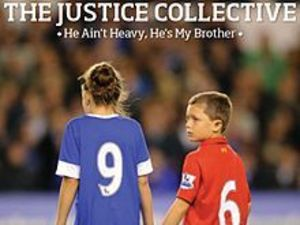 Justice Collective: He ain't Heavy, He's My Brother single cover artwork