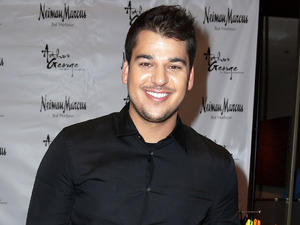 Robert Kardashian at launch of Arthur George in Miami - 10 December