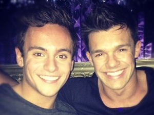 Tom Daley and Leandro Penna.