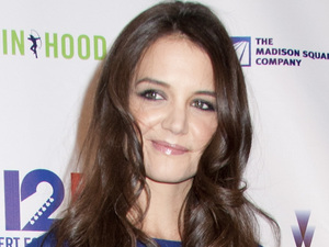 12-12-12 The Concert for Sandy Relief at Madison Square Garden, New York: Katie Holmes