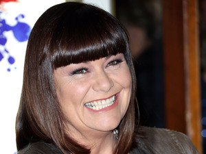Dawn French at the press night of Viva and Forever!, a new musical based on the songs of the Spice Girls.