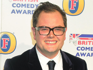 Alan Carr arriving at the UK Comedy Awards