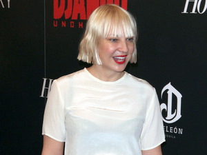 The Premiere of 'Django Unchained' held at the Ziegfeld Theatre - Arrivals Featuring: Sia Where: New York City, NY, United States When: 11 Dec 2012
