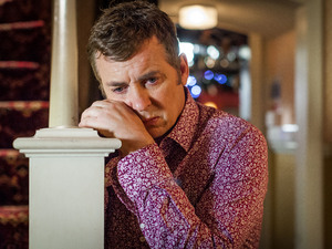 Alfie's emotions are confused as he struggles to cope after Kat's affair is revealed.