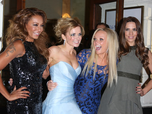 Melanie Brown aka Mel B, Geri Halliwell, Emma Bunton, Melanie Chisholm aka Mel C VIVA Forever Spice Girls the Musical held at the Piccadilly Theatre- Arrivals London, England - 11.12.12 Mandatory Credit: Lia Toby/WENN.com