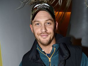 Tom Hardy, English National Ballet Christmas Party, London