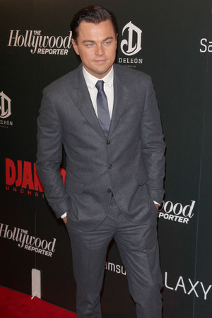 The Premiere of 'Django Unchained' held at the Ziegfeld Theatre - Arrivals Featuring: Leonardo DiCaprio Where: New York City, NY, United States When: 11 Dec 2012