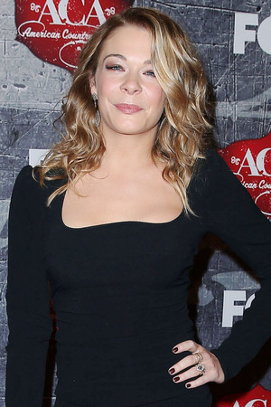 LeAnn Rimes arriving at the 2012 American Country Awards at Mandalay Bay Resort and Casino