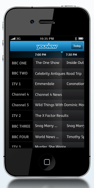 YouView TV Guide